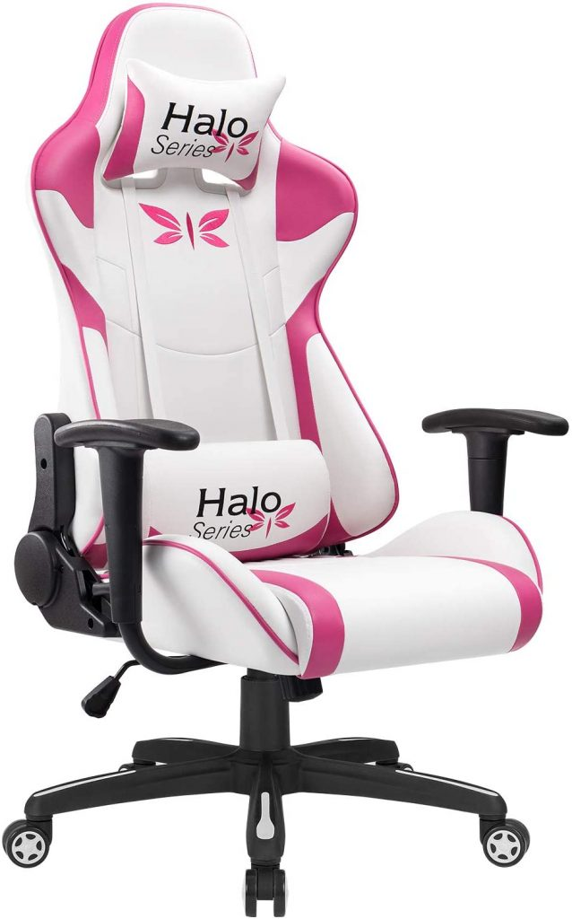Chaise gaming rose JUMMICO