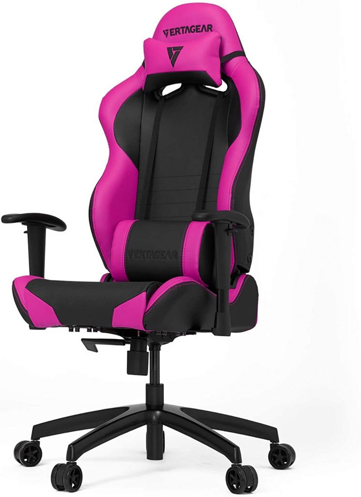 VERTAGEAR S-Line 2000 SL2000 : Chaise gaming rose
