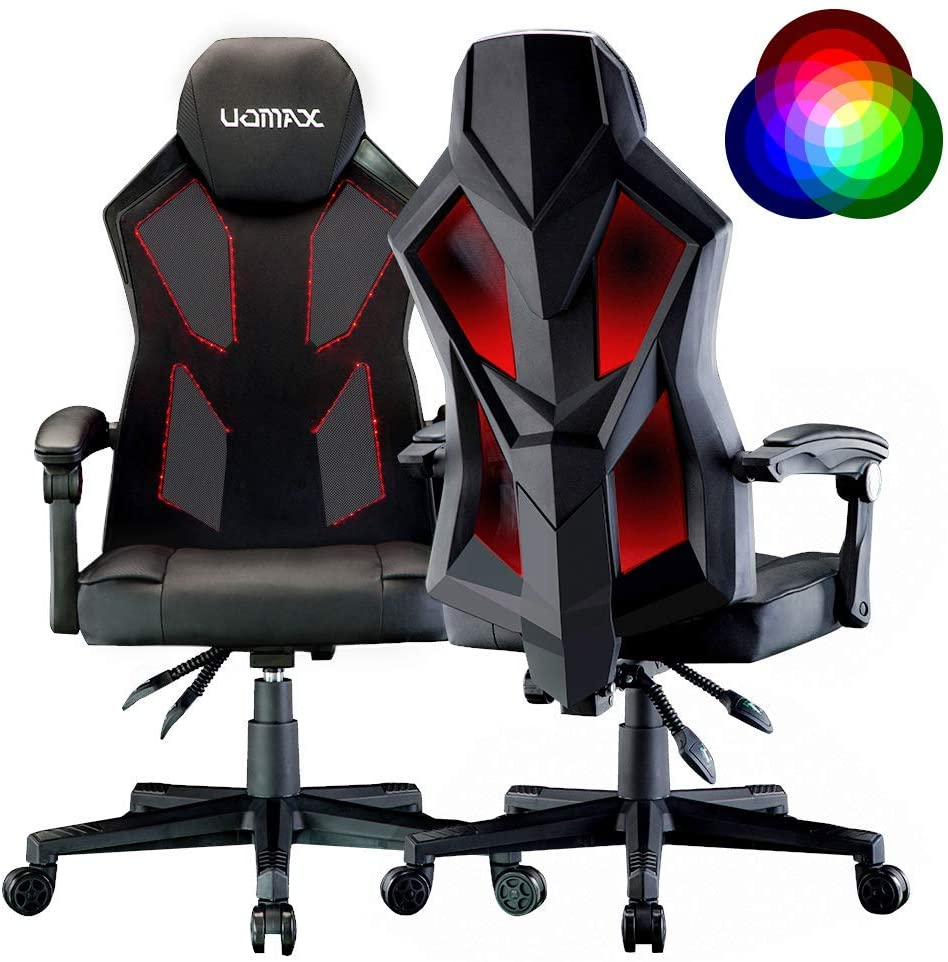 UOMAX : chaise gaming led
